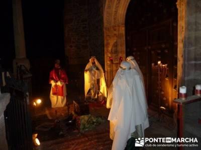 Senderismo Sierra Norte Madrid - Belén Viviente de Buitrago; senderos de andalucia